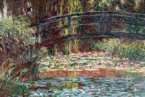 Stagno delle ninfee di Claude Monet