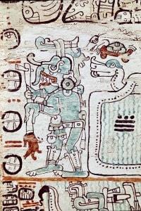 Il Codice di Madrid, in lingua Maya, portato in Spagna da Hernan Cortes