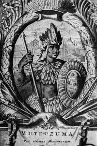 Montezuma II, l'ultimo imperatore azteo del Messico