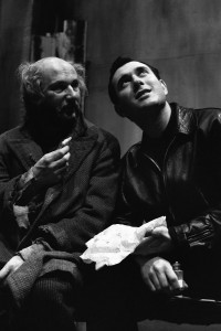Scena da The caretaker di Harold Pinter