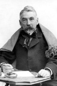 Stéphane Mallarmé in una fotografia di Nadar