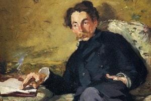 Ritratto di Stéphane Mallarmé. Olio su tela di Edouard Manet