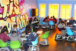 Una classe dell'IISS Majorana: innovativa, dinamica, flessibile e collaborativa