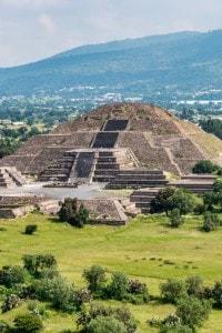 Piramide di Teotihuacan in Città del Messico