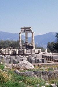 Santuario di Athena Pronaia a Delfi (Grecia)