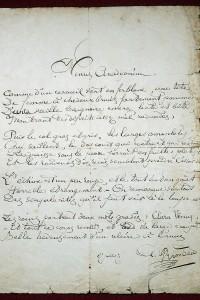 Lettera manoscritta di Rimbaud