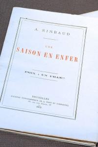 Una stagione all'inferno di Rimbaud