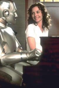 """Una scena del film """"Bicentennial Man"""" del 1999 diretto da Chris Columbus, basato sull'omonimo racconto di Isaac Asimov"""