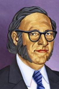 Isaac Asimov (1920-1992). Scrittore americano di origine russa