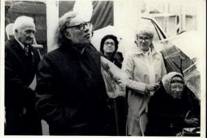 Nella foto: John McConnell, Isaac Asimov e Magaret Mead