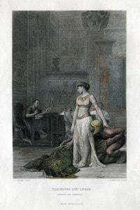 Cleopatra e Cesare
