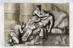 Marco Antonio muore fra le braccia di Cleopatra