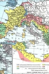 L'Impero romano nel suo massimo momento di espansione