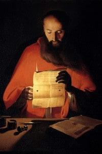 San Girolamo, che descrisse i fatti del Sacco di Roma