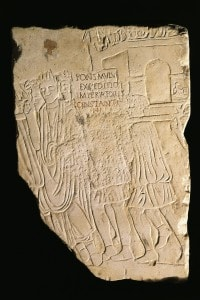 Rilievo raffigurante la vittoria dell'imperatore Costantino a Ponte Milvio