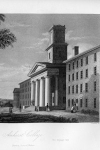 Amherst College, Massachusetts, 1855