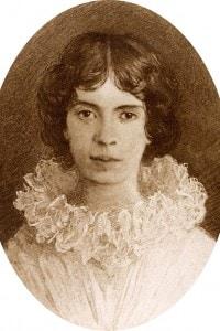Emily Elizabeth Dickinson (1830-1886), poetessa americana nata ad Amherst (USA)