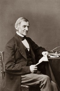 Ralph Waldo Emerson , 1870. Saggista americano tra i leader del movimento trascendentale a Boston