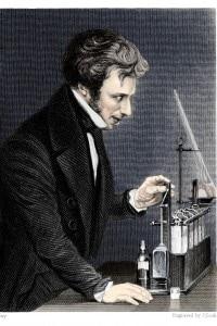 Michael Faraday (1791-1867). Chimico e fisico britannico
