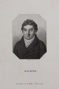 Ritratto di Johann Gottlieb Fichte (1762-1814), 1810