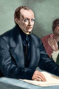 Auguste Comte (1798-1857). Filosofo e sociologo francese