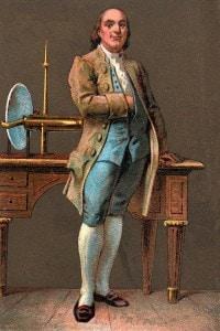 Benjamin Franklin (1706-1790): stampatore, editore, scienziato, inventore, statista e diplomatico americano