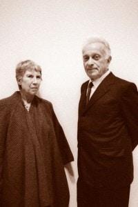 Natalia Ginzburg e Giulio Einaudi, 1988