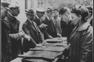 Commercianti di denaro a Berlino durante la Repubblica di Weimar