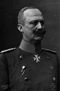 Erich Ludendorff (1865-1937): generale tedesco