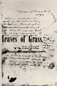 Foglie d'erba: copia della prima edizione della raccolta di poesie di Whitman