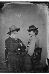 Walt Whitman e Pete Doyle