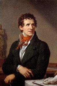 Ritratto di Antonio Canova: opera di Francois-Xavier Fabre