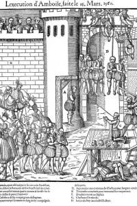 Congiura di Amboise, 1560: l'esecuzione dei congiurati