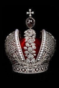 La corona imperiale di Caterina la Grande di Russia