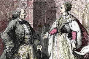 Denis Diderot e Caterina II di Russia