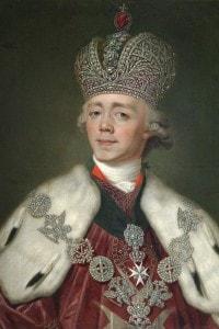 Paolo I di Russia (1754-1801): figlio di Caterina la Grande di Russia