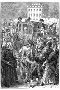 Luigi XVI a Parigi