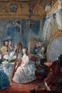 Maria Antonietta a Versailles, 1777