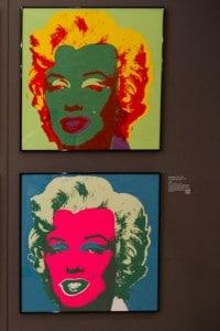 Marilyn Monroe di Warhol