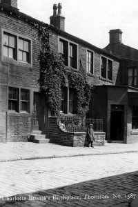 Casa natale di Charlotte e Anne Bronte a Thornton, in Inghilterra
