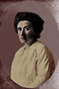 Ritratto di Rosa Luxemburg (1871-1919)