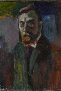 Autoritratto di Henri Matisse