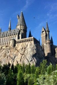 Il castello di Hogwarts nel parco tematico di Harry Potter in Florida