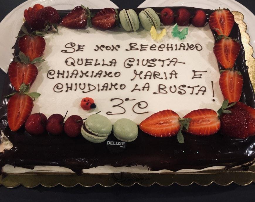 La torta di Martina Esposito