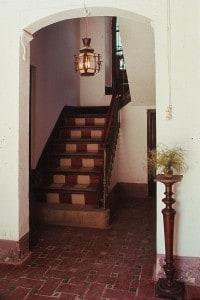 Il corridoio della casa di Garcia Lorca a Fuente Vaqueros, Granada (Spagna)
