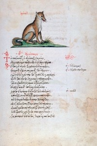 Bestiario medievale di Manuel Philes