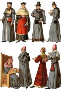 Medici e servitori medievali