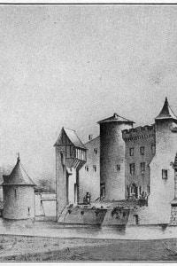 Chateau de la Brède in Guascogna (Francia): casa di Montesquieu
