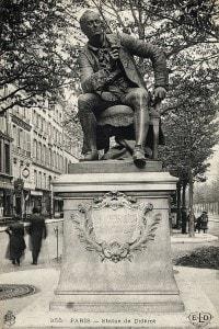 Statua di Denis Diderot a Parigi
