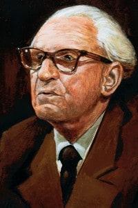 Herbert Marcuse (1898-1979). Filosofo ebreo-tedesco, teorico politico e sociologo e membro della Scuola di Francoforte